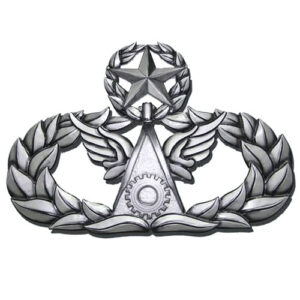 Master Civil Engineer Badge Insignia Plaque