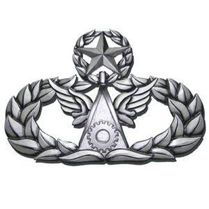 Master Civil Engineer Badge Insignia Plaque
