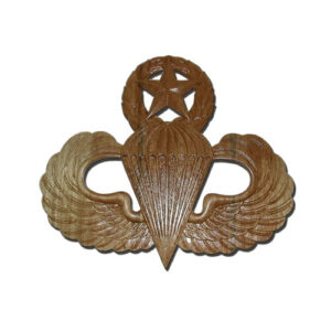 Master Parachutist Badge Jump Wings Plaque