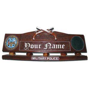 Military Police Desk Nameplate