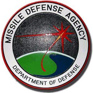 Missile Defense Agency Plaque