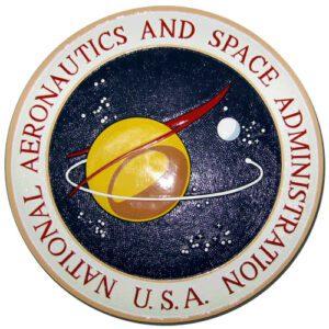 NASA Original 1959 Design Plaque