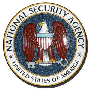 NSA Seal Plaque
