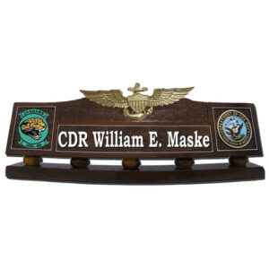 Naval Aviator Desk Name Plate