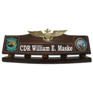 Naval Aviator Desk Name Plate