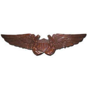 US Naval Flight Officer Badge Insignia Plaque