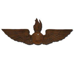 Navy Aviation Ordinance AO Wings Insignia Plaque