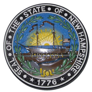 New Hampshire State Seal Plaque