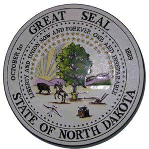 North Dakota State Seal Plaque