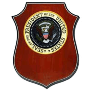President Of The United States Seal Award Plaque