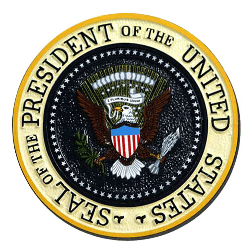 Presidential Seal Plaque