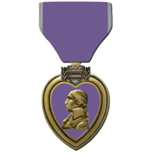 Purple Heart Plaque