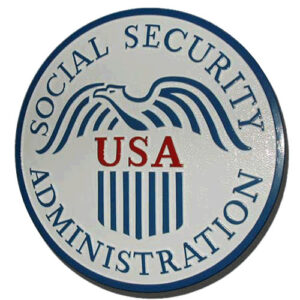 U.S. Social Security Administration Plaque
