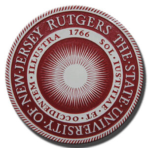 State University of New Jersey Rutgers Seal
