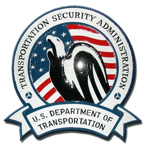 TSA Seal Plaque