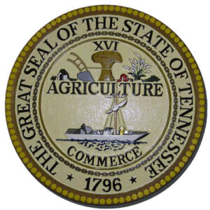 Tennessee State Seal Plaque