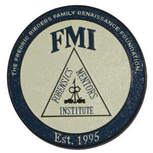 The Fredric Rieders Family Renaissance FMI Seal / Podium Plaque