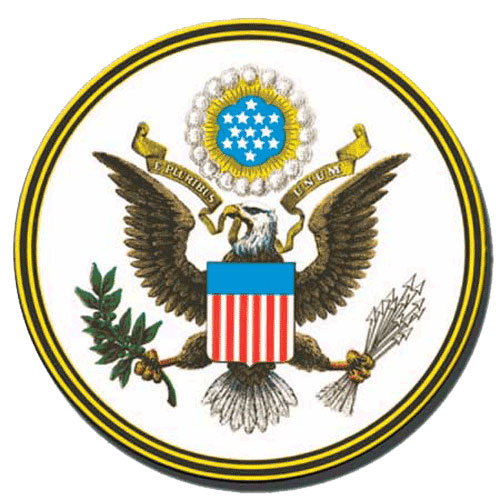 The Great Seal of The United States Podium Plaque