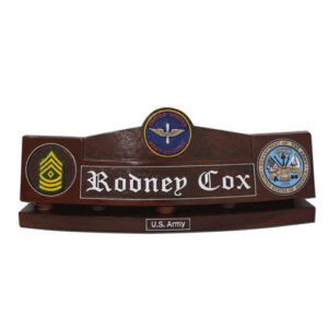 U.S. Army Aviators Desk Name Plate