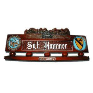 Army Tank Desk Name Plate