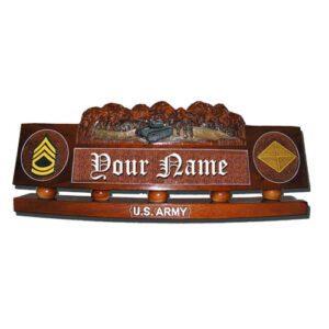U.S. Army Tank Desk Name