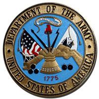 U.S. Army Seal Plaque