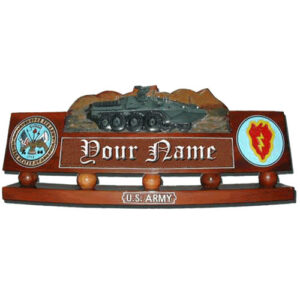 U.S. Army Stryker Brigade Desk Name Plate