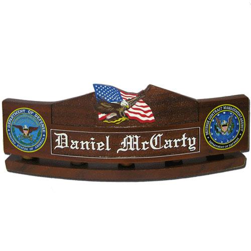 USMC Eagle & Flag Desk Name