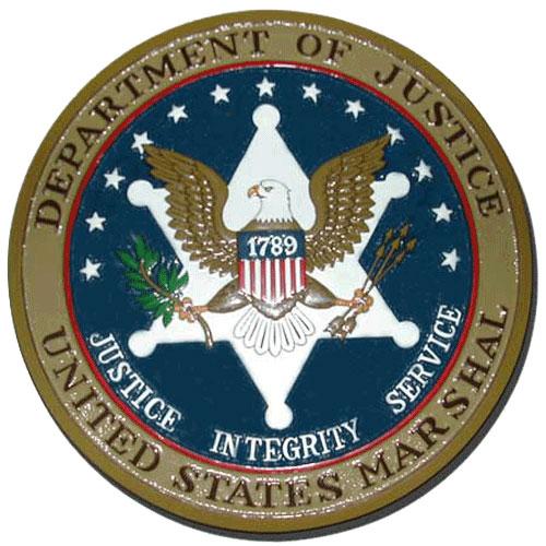 U.S. Marshals Service Plaque