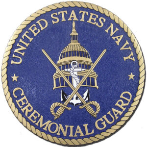 US Navy Ceremonial Guard Seal