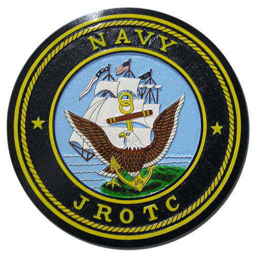 US Navy JROTC Seal