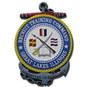 U.S. Navy Recruit Training Command (NRTC) Seal Plaque