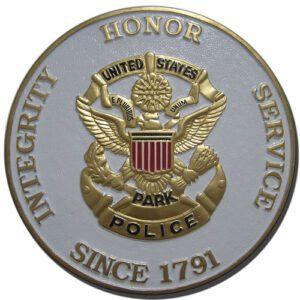 U.S. Park Police Plaque