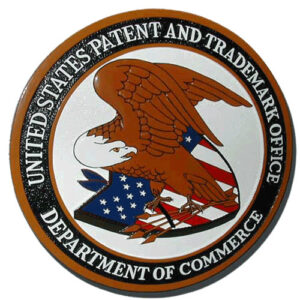 U.S. Patent & Trademark Office Plaque