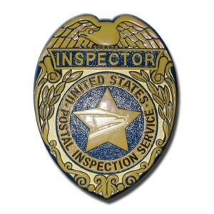 Postal Service Inspector Badge Plaque