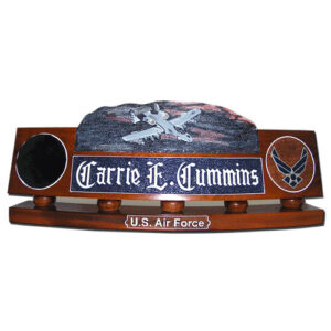 USAF A-10 Thunderbolt Desk Name Plate