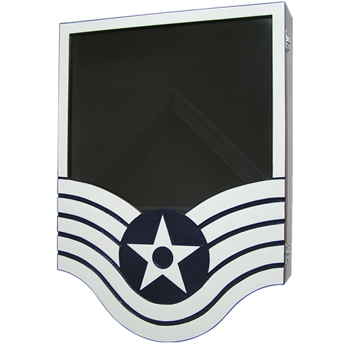 E6 Technical Sergeant Shadow Box