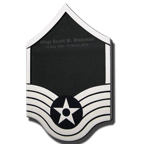 Air Force E-7 Retirement Shadow Box