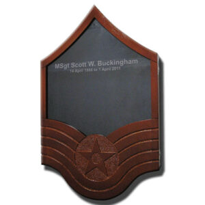 E-7 Master Sergeant Shadow Box