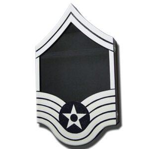 Air Force E-8 Retirement Shadow Box