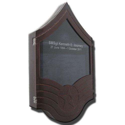 Senior Master Sergeant Shadow Box