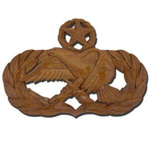 USAF Master Maintenance Badge Plaque
