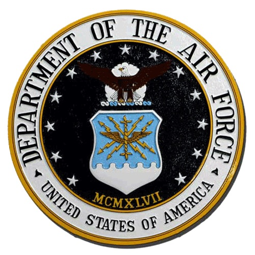 Air Force Seal Plaque