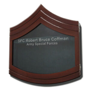Sergeant First Class E-7 Shadow Box