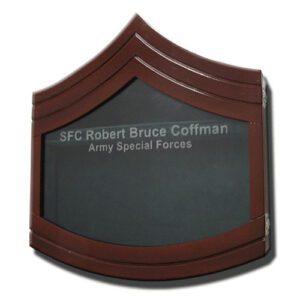 Sergeant First Class E-7 Shadow Box