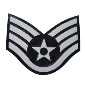USAF E5 Rank Insignia Plaque