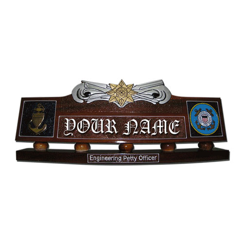 Boat Force Operations Desk Name Plate