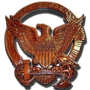USCG Command Afloat Insignia Plaque