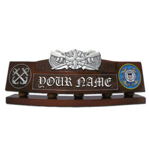Coxswain Pin Desk Name Plate