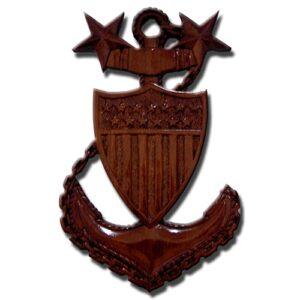 USCG MCPO E9 Anchor Plaque